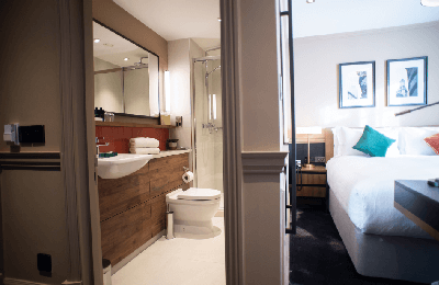 The Counting House Hotel Bank London - classic double en-suite