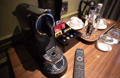 Nespresso Machines in every room