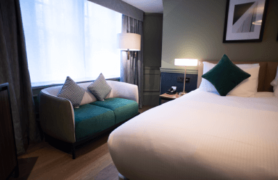 The Counting House Hotel Bank London - premium double sofa