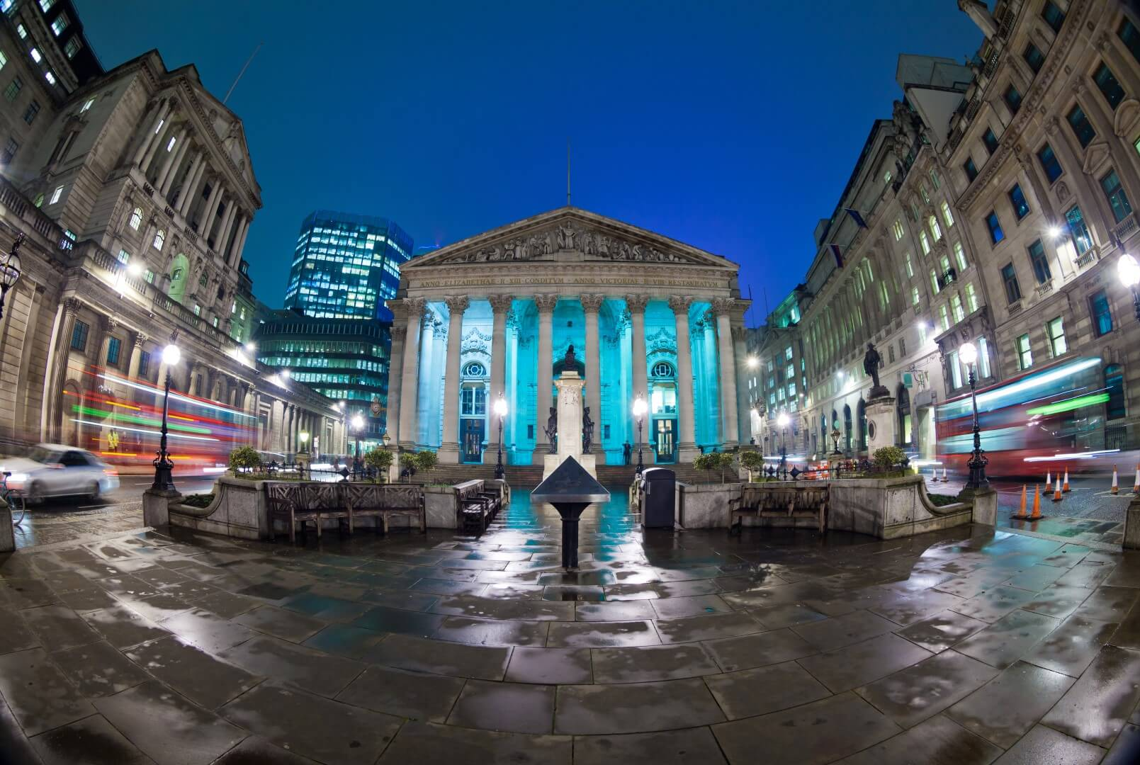 the royal exchange and the bank of england